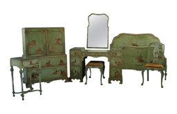 1920s Chinoiserie Bedroom Set