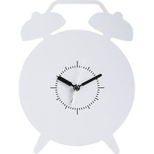 Contemporary Alarm Clocks by Crate&Barrel