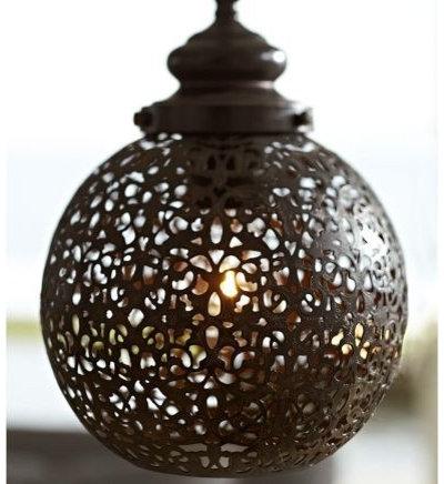 Mediterranean Pendant Lighting by Pottery Barn