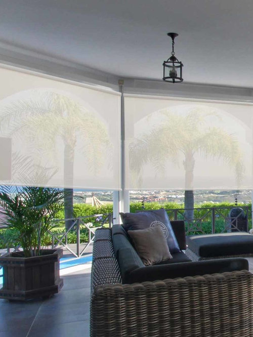 Solar Shades For Indoor Outdoor Spaces