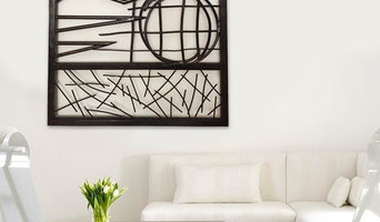 'Ventus' Abstract forged steel wall sculpture
