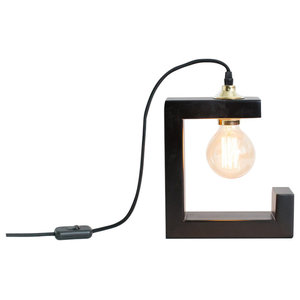 Riga Table Lamp, Black