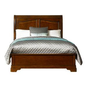 Sleigh Bed, Queen