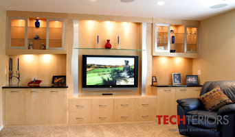 Exisiting Built-In Cabinet with the addition of TV and music