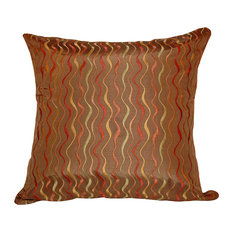 Wavelength Polyfill Insert Pillow With Cover, 20x20