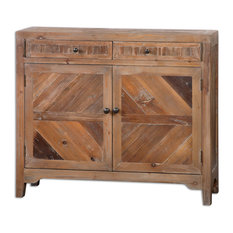 Uttermost - Hesperos Reclaimed Wood Console Cabinet - Accent Chests and Cabinets
