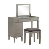 Masey Silver Vanity Set