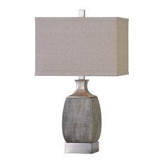 Uttermost Caffaro Table Lamp, Rust Bronze