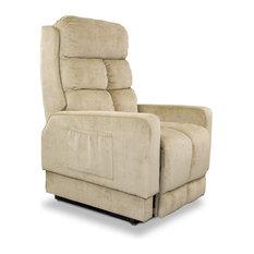 Bay - Bernard Mobility Recliner, Oyster - Lift Chairs