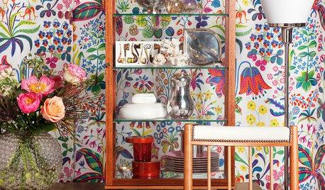 Moderna vitrinskåp: Ett skyltfönster hemma