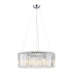 Holland Crystal Drum Chandelier
