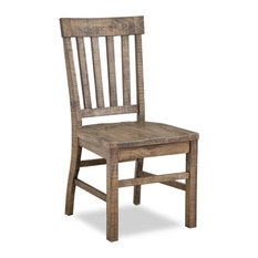 Beautiful Magnussen Home Furnishings   Magnussen Willoughby Slat Back Dining Chair  With Wood Seat   Dining Chairs