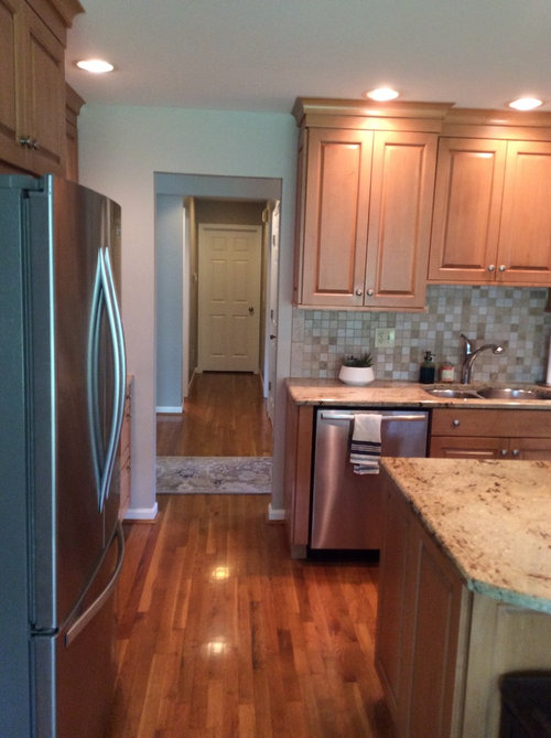Update Dark Kitchen Cabinets