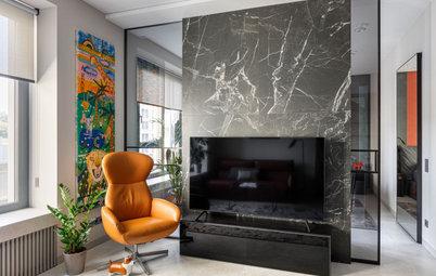 Houzz тур: Апартаменты для семьи дизайнера Ирины Чернейкиной
