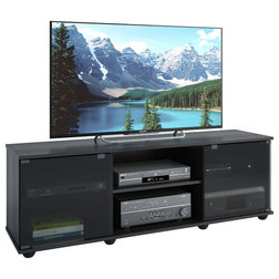 Contemporary Entertainment Centers And Tv Stands by CorLiving