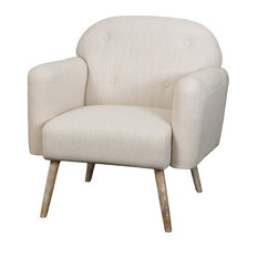 gdfstudio denise austin home heathrow beige fabric arm chair beige armchairs and accent