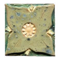 "Medieval Floral Tiles, 4""x4"", Essex"