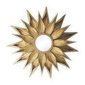 "Cambelside Gold Brackenhead 36"" Height Mirror"