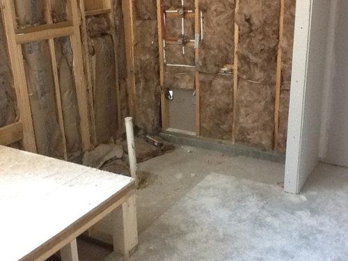Builder shower dilemma!