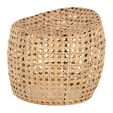 Jao Rattan Cane Stool, Natural