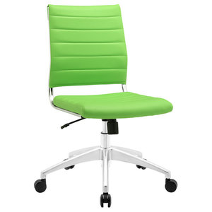 Jive Mid Back Office Chair EEI-1525, Bright Green