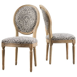 Victorian Dining Chairs by GDFStudio