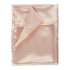 100% Silk Pillowcase_Silk Charmeuse - Blush - King