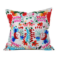 "Deb Haugen ""Mexican Surf Trip"" Outdoor Throw Pillow, 18""x18"""