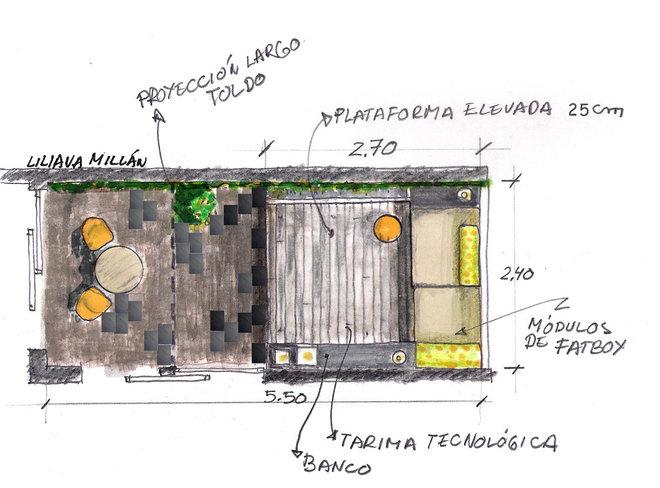 Contemporáneo by Liliana Millán-Arquitecta
