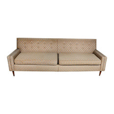 2bmodern Vintage Mid Century Modern Low Back Couch Sofa Sofas