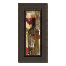 """Festa II"" By Albena Hristova, Framed Wall Art, Ready to Hang"