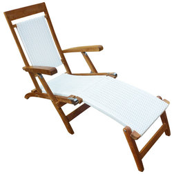 Tropical Outdoor Chaise Lounges by Chic Teak