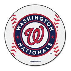 "MLB Washington Nationals Baseball Mat 27"" Diameter"