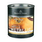 Benjamin Moore Studio Finishes Metallic Glaze (620), Gold, Quart