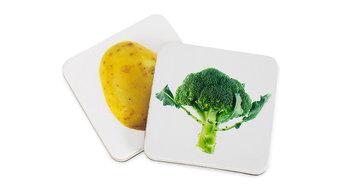Educational Wooden Magnets For Children, First Vegetables