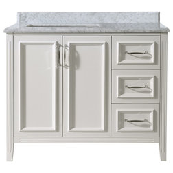 Great Transitional Bathroom Vanities And Sink Consoles by Ari Kitchen u Bath