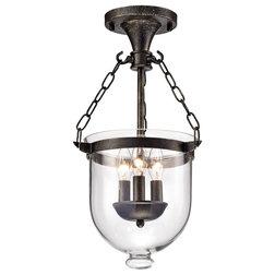 Industrial Flush-mount Ceiling Lighting by Edvivi Lighting