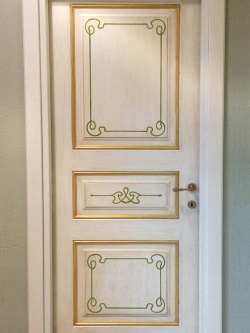 Porte interne decorate a mano