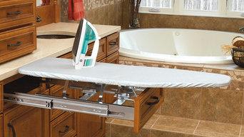 In-Drawer Mount Ironing Board