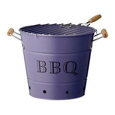 Bloomingville - Barbecue Bucket, Purple - BBQ Tools & Accessories