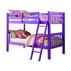Donco Kids Grapevine Bunk, Twin Over Twin