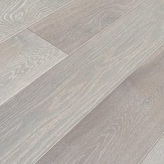 Elegance Plyquet   Brushed French White Oak Hardwood Flooring, Sample,  Cicerone Saison   Engineered