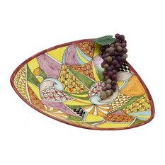 GAUDI: Large Triangular Centerpiece Plate