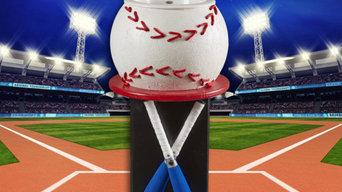 Batter Up Baseball Bathroom Vanity