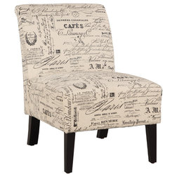 Transitional Armchairs And Accent Chairs by Linon Home Decor Products