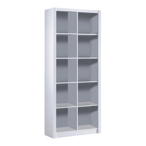 Kube Double Bookcase