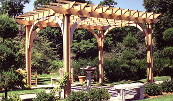 Traditional Post and Bracket Pergolas