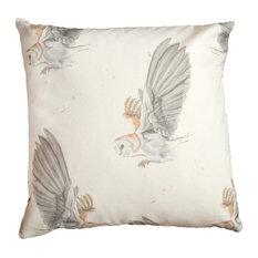 Barn Owl Handmade Cushion