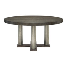 The Rustic Modern Round Dining Table