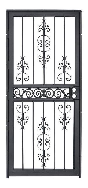 C R Laurence Security Screen Door Steel 32 Inch W X 80 H